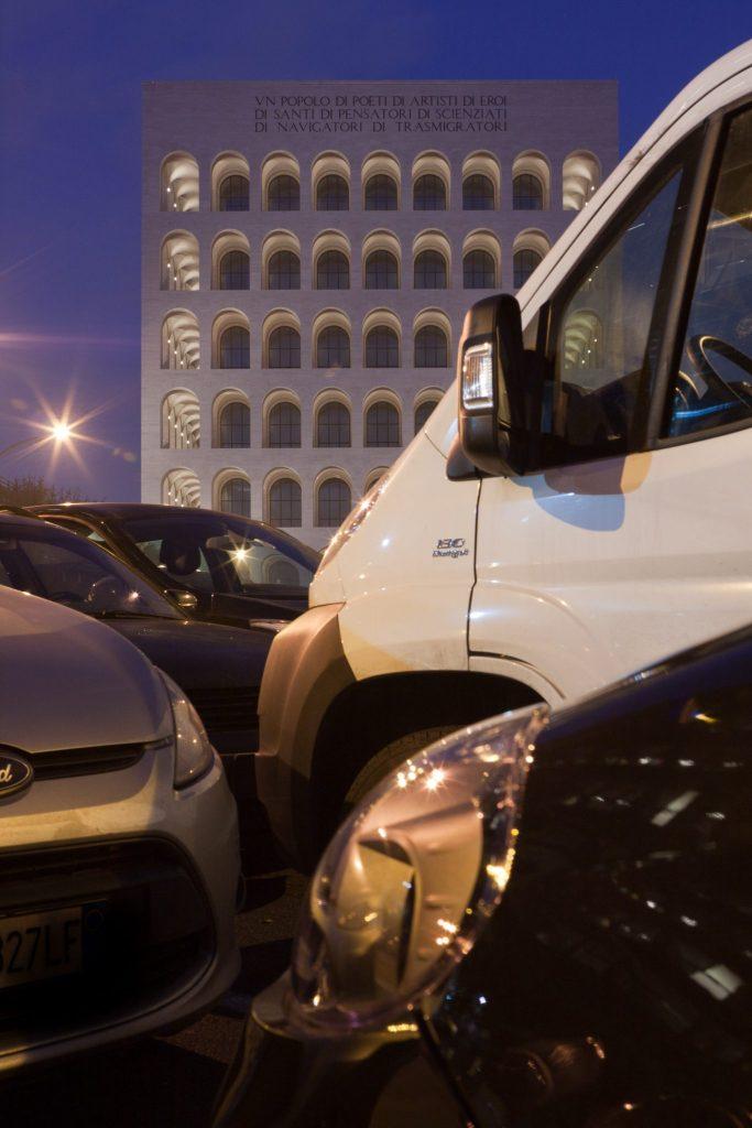 palazzo della civilta square colosseum photo by gabriele gelsi