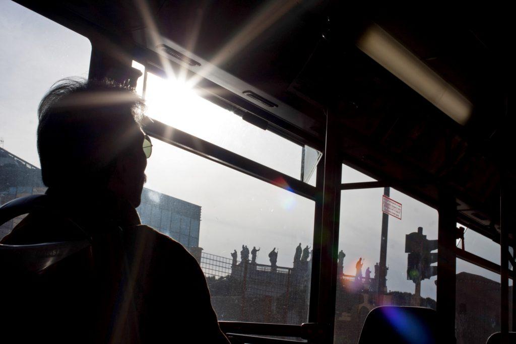 roman buses san giovanni